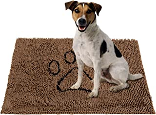 PUPTECK Super Absorbent Dirty Dog Doormat - Non Skid Microfiber Pet Door Runner Mat