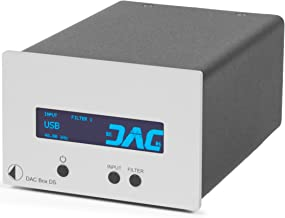Pro-Ject DAC Box DS (Silver) Digital to Analog Converter, Silver
