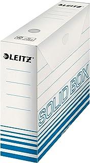 Esselte Leitz Archivbox Solid, 80 mm, carton ondulé (Bleu clair)