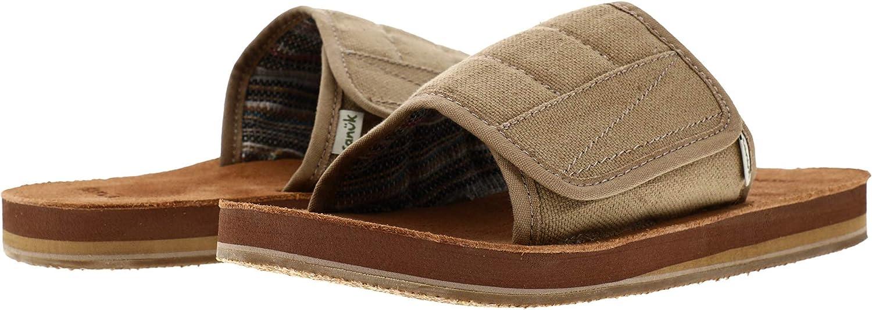 Sanuk Men's Bixby Hemp Slide Sandal