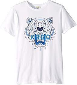 Light Tiger Logo Tee (Big Kids)