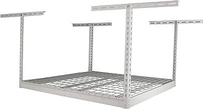 SafeRacks SR-4x4-W-24 Overhead Garage Storage Rack, 4' x 4'