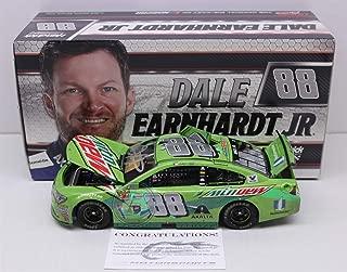 Lionel Racing Dale Earnhardt Jr Autographed 2017 Mountain Dew/Talladega Raced Version 1:24 Nascar Diecast