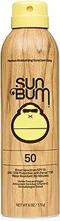 Sun Bum Original Sunscreen Spray | Vegan and Reef Friendly (Octinoxate & Oxybenzone Free) Broad Spectrum Moisturizing UVA/...