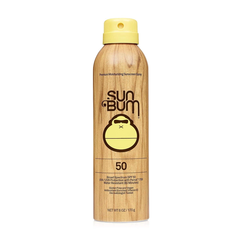 Sun Bum Original SPF 50 Sunscreen Spray Vegan and Reef Friendly (Octinoxate & Oxybenzone Free) Broad Spectrum Moisturizing UVA/UVB Sunscreen with Vitamin E