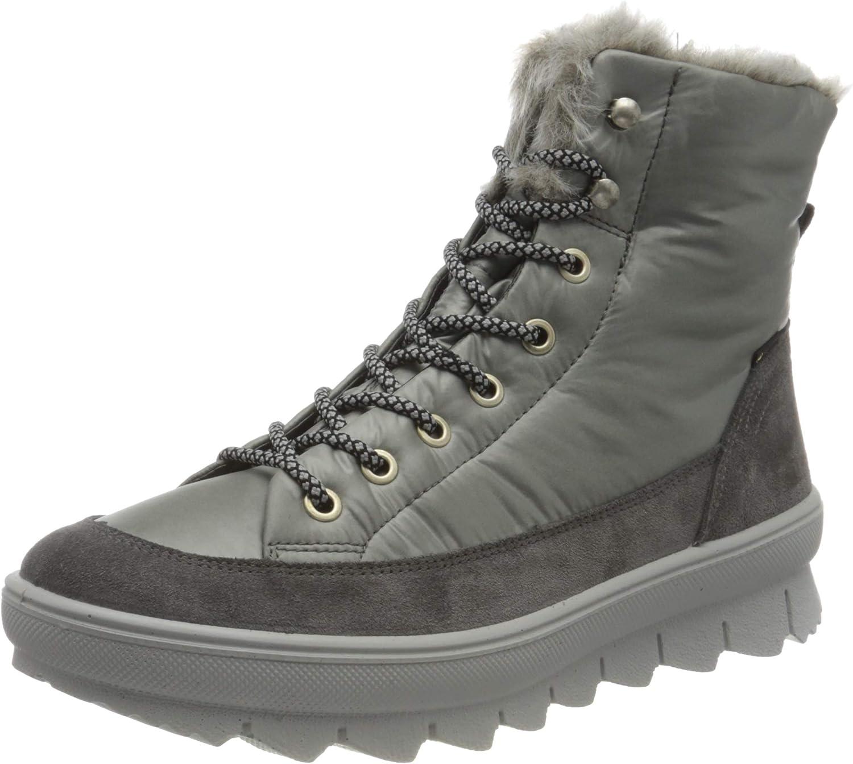 Legero Women's Novara Snow Boot, Fumo 2200, 7.5