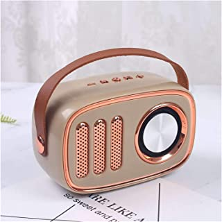 $55 » EODUDO-S Wireless Bluetooth Retro Speaker Portable Vintage Speaker FM Radio Sound Stereo Outdoor Loudspeaker Support TF Ca...
