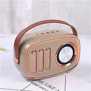 $55 » EODUDO-S Wireless Bluetooth Retro Speaker Portable Vintage Speaker FM Radio Sound Stereo Outdoor Loudspeaker Support TF Ca...