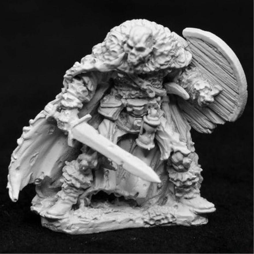 競う完全に乾くレパートリーReaper ミニチュア クリプト ガーディアン スケルトン #03951 ダークヘヴン 未塗装メタル