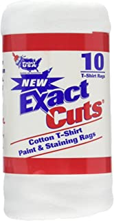 "Intex Supply Co W-10001 Exact Cut T-shirt Paint & Staining Rags 14""x16"""