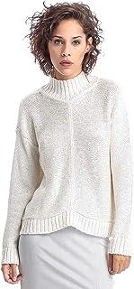 Bebe Nylon High Neck Pullover Top For Women