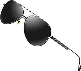 Sponsored Ad - ATTCL Men's Fashion Driving Polarized Sunglasses UV Protection Metal Frame