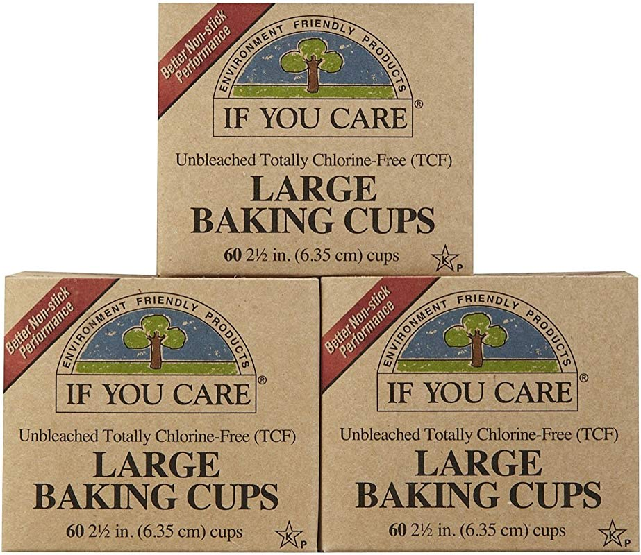 If You Care Unbleached Large Baking Cups 60 Ct 6 Pk