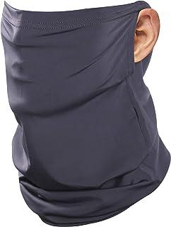 JSPA Neck Gaiter Earloop Ice Silk Cooling Sports Face Scarf Balaclava Bandana Headwear for Dust Outdoors