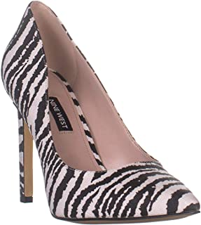 Nine West Women's Tatiana Dark Natural Suede Dress Pump