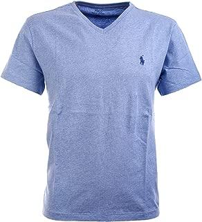 POLO RALPH LAUREN Men's Classic Fit V-Neck T-Shirt Cotton (XL, Ocean Heater)