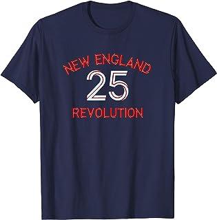 New England Jersey American Revolution Soccer Fan Gift T-Shirt