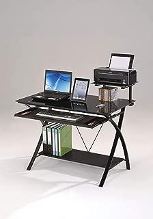 ACME Furniture Erma Computer Desk, Black