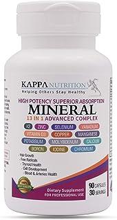 (90 Capsules), Vitamin K2, Vitamin D3, Zinc, Selenium, Vanadium, Copper, Manganese, Potassium, Molybdenum, Calcium, Chromi...