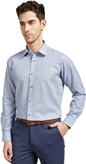 Knighthood by FBB Checkered Slim Fit Shirt Blue