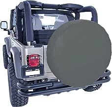 Rugged Ridge 12804.35 Diamond Black Tire Cover for 35