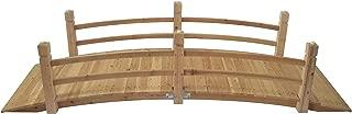 Stonegate Designs Wooden Garden Bridge - 7ft.L, Model Number DSL-4212-WP