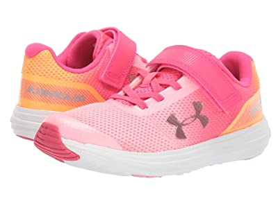 Under Armour Kids UA GPS Surge RN Prism AC (Little Kid) (Pop Pink/Pinkadelic/Metallic Rose Gold) Girls Shoes