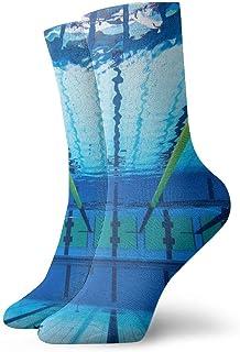 Be-ryl, Piscina subacuática Pasarela Ocio Calcetines de algodón Calcetines Deportivos Unisex