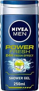 NIVEA MEN Power Fresh Shower Gel 3in1, 24h Fresh Effect, Citrus Scent, 250ml