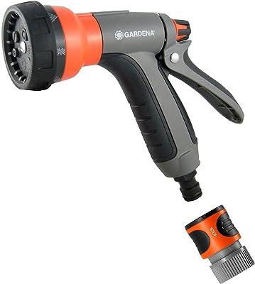 Gardena 34121-RT Metal Rear Trigger 7 in 1 Spray Nozzle