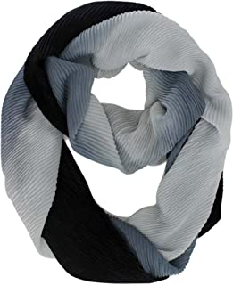 Ombre Gradient Infinity Scarf