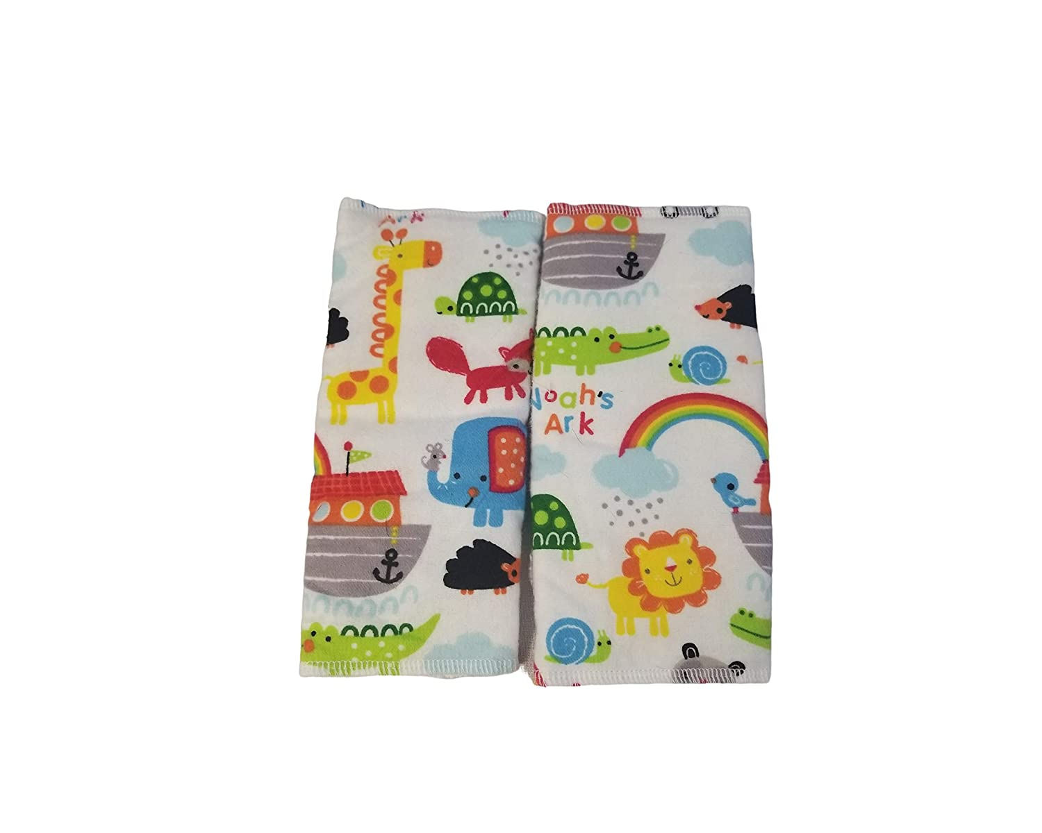 Noah's ark Drool Suck Pads fits Carriers Such as tula,lilliebaby,Ergo