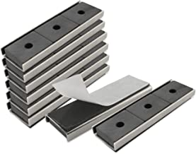 Master Magnetics Adhesive Magnets   Nickel-Plated Strong Magnetic Fastener   Double Sided..