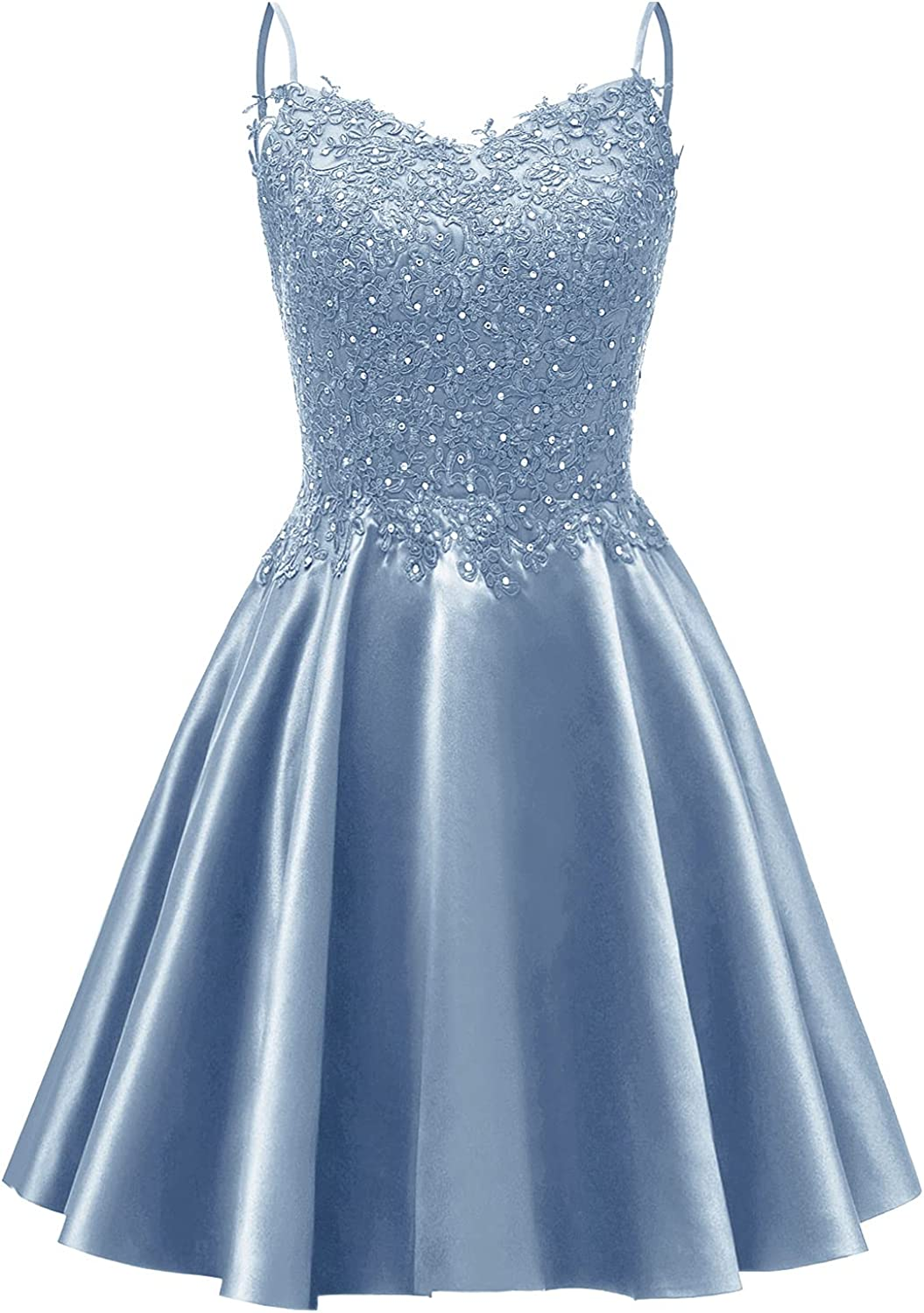 Molisa Beaded Short Prom Dress V with Neck Dresses New mail order supreme Po Homecoming