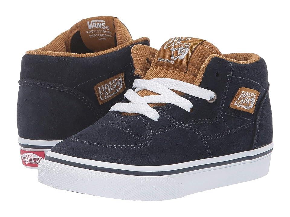 Vans Kids Half Cab (Infant/Toddler) ((S&C) Sky Captain/Cumin) Boys Shoes