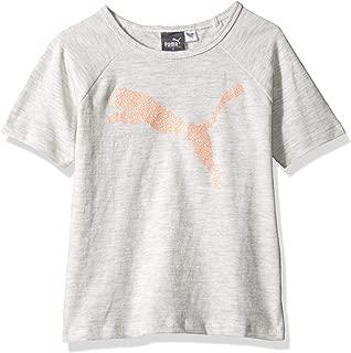 Little Girls' Open Back T-Shirt