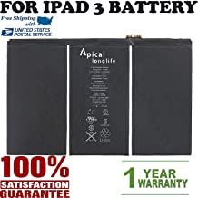Compatible for iPad 3 4 A1389 616-0591 616-0592 A1460 A1459 A1458 OEM Replacement Battery