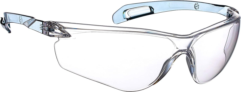 NoCry Gafas de seguridad ligeras con clasificación ANSI Z87.1, transparentes, resistentes a los arañazos, lentes antiniebla, adecuadas para uso en interiores o exteriores