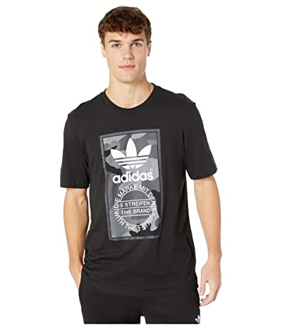 adidas Originals Camo Tee (Multicolor/Carbon) Men