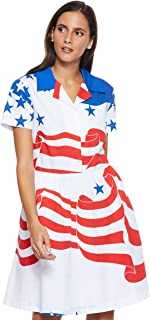 Tommy Hilfiger Women's J20J210394-Multicolored Dresses