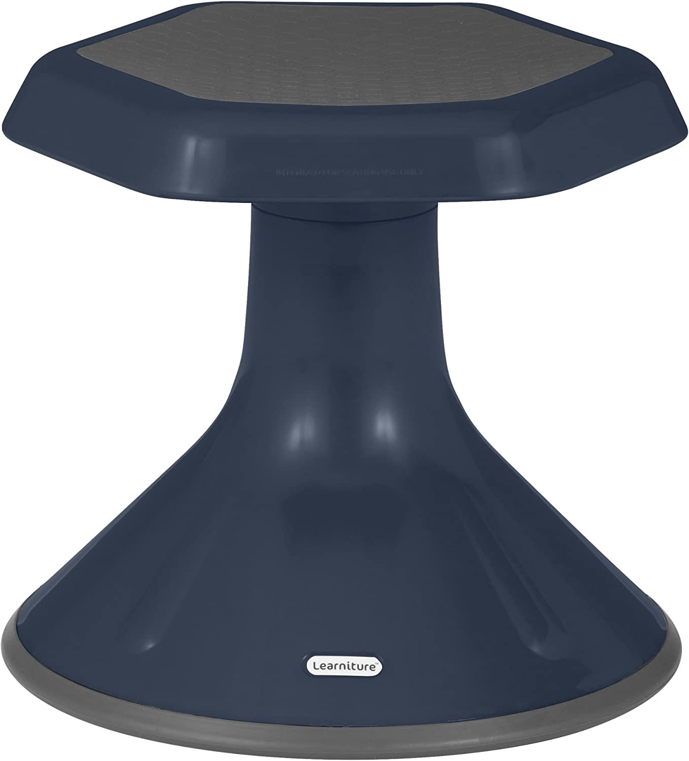 Learniture Active Learning Chair  Stool, 12  H, Navy, LNT-3046-12NV