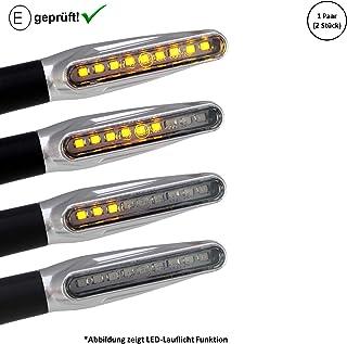 LED Blinker kompatibel mit Honda VT 750 C Black Widow, X4 / VT 600 C Shadow (E Geprüft / 2Stück) (B16)