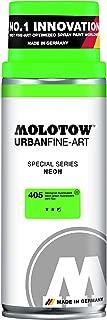 Molotow Urban Fine Art Acrylic Spray Paint, Neon Green, 400ML Can, 1 Each