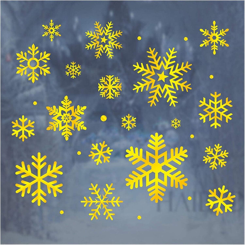 Max 51% OFF Zfwlkj Christmas Window gift Stickers Wall Merry W