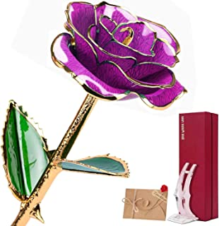 Best dozen gold dipped roses Reviews