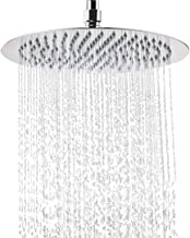 NearMoon Rain Shower Head, Large Stainless Steel High Flow Bath Shower, Ultra Thin Design Rainfall Booster Showerhead Wate...