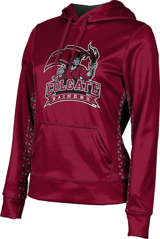 ProSphere Colgate University Girls' Pullover Hoodie, School Spirit Sweatshirt (Geometric)