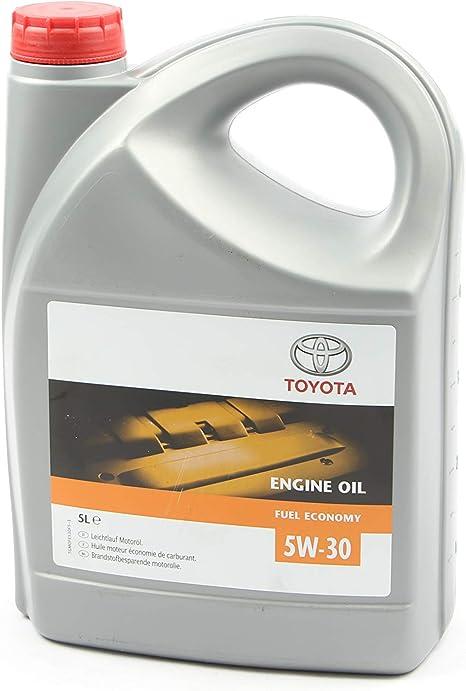 Toyota Engine Oil Sae 5w 30 Full Economy 5 Litres Auto