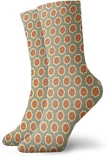 Fuliya, Calcetines suaves de longitud media pantorrilla, tonos pastel, temporada de primavera con plantas florecientes, nacimiento de la naturaleza, calcetines para hombres y mujeres