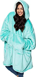 THE COMFY   The Original Oversized Sherpa Blanket Sweatshirt, Seen On Shark Tank, One Size Fits All